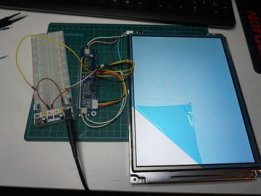 640x480 LCD and Raspberry Pi