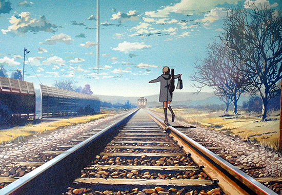 The Girl Who Leapt Through Time Wallpaper Anime S Love Affair With Railway Tracks Halcyon Realms