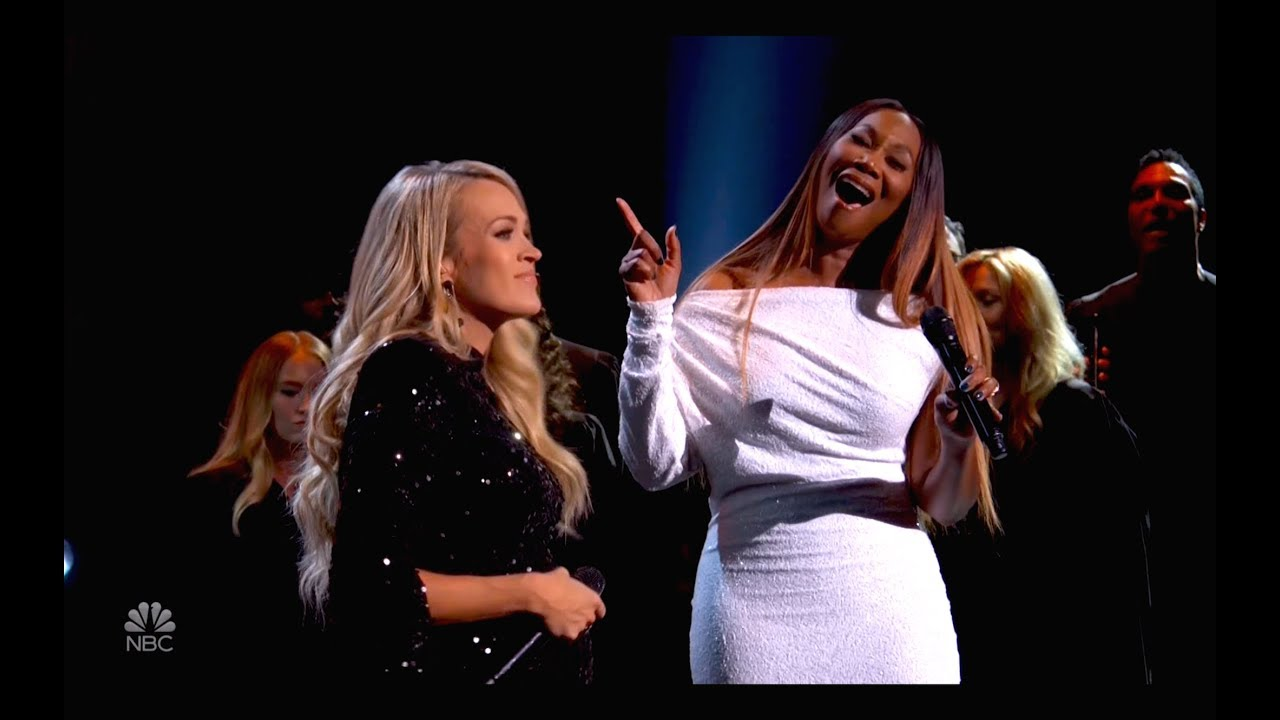 carrie underwood yolanda adams