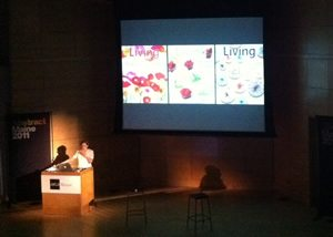 Gael Towey from Martha Stewart Living at Abstract Conference Maine