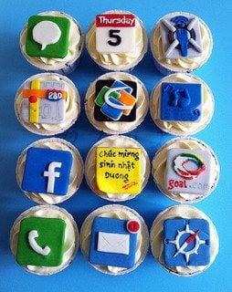 Mobile App Cupcakes