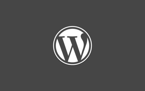 WordPress Dark Logo
