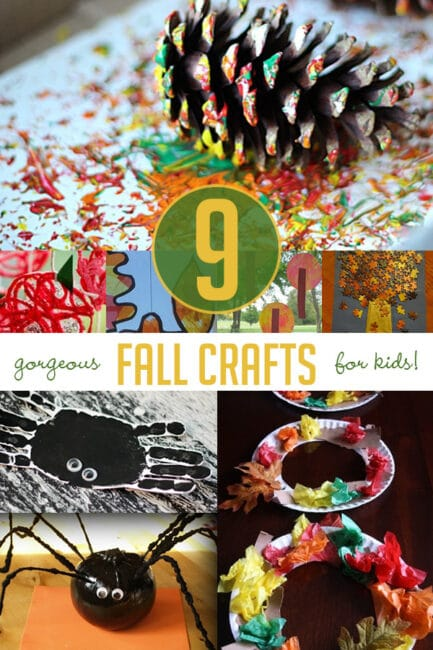9 Gorgeous Fall Crafts For Kids Hands On As We Grow