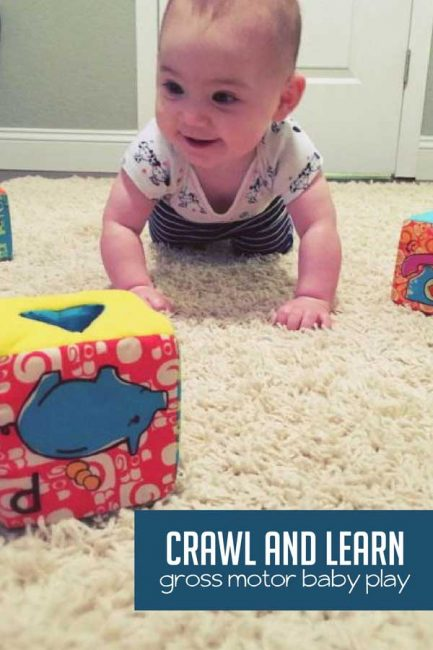 Crawl and Learn with a Baby Obstacle Course   Hands On As ...