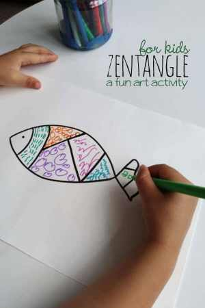 zentangle easy drawing activity activities patterns inspired relaxing drawings handsonaswegrow pattern fun beginners wreath mom project painting kid feature