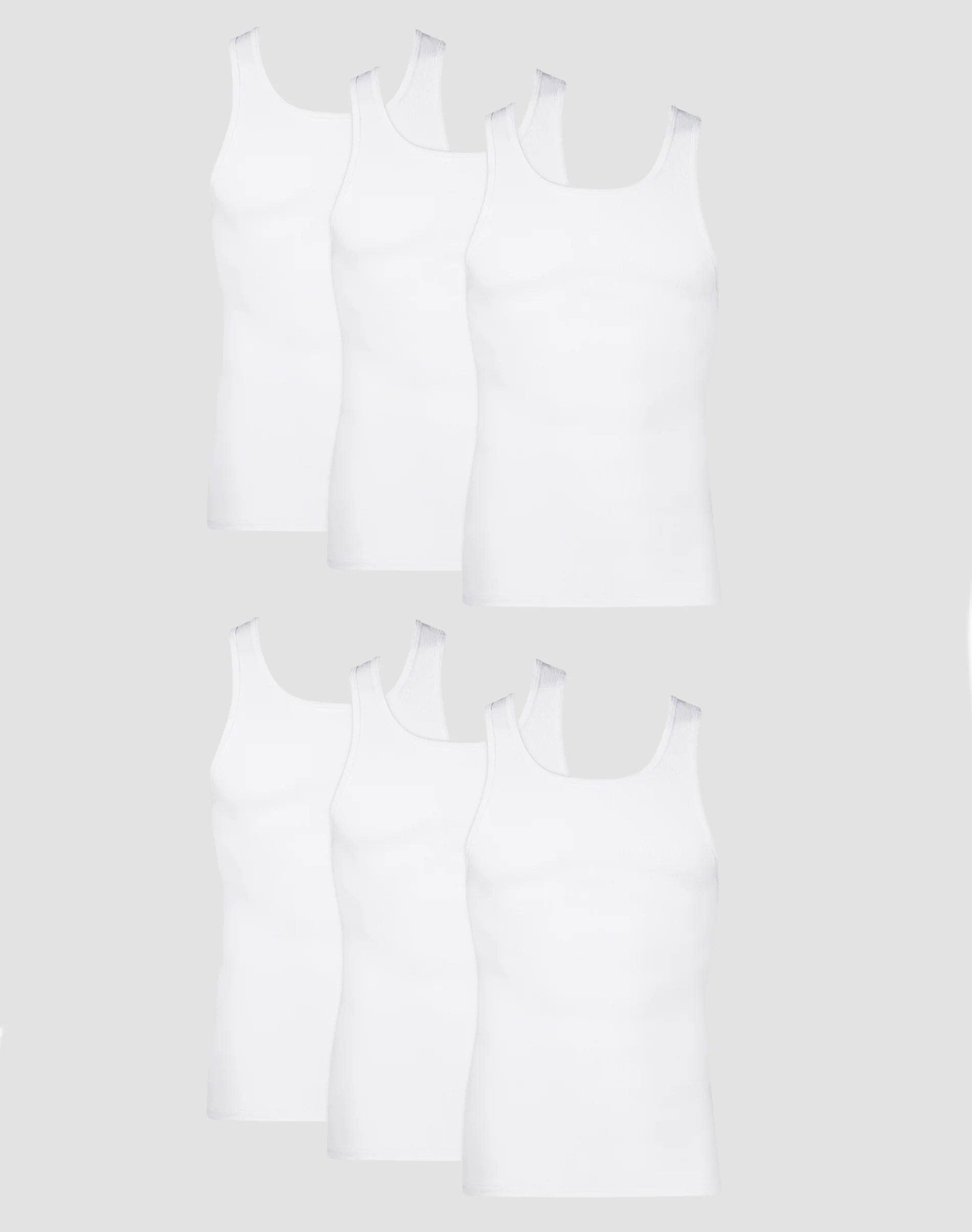 Hanes Mens Underwear Size Chart : hanes, underwear, chart, Hanes, Men's, TAGLESS, ComfortSoft, White, A-Shirt, <seo:, StoreName/>