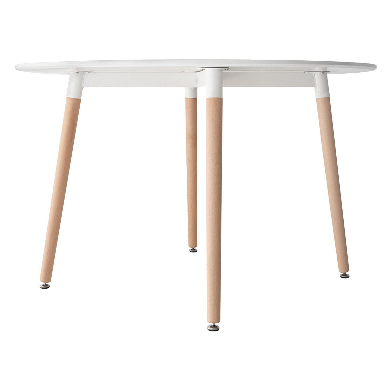 table ronde 120cm et chaises
