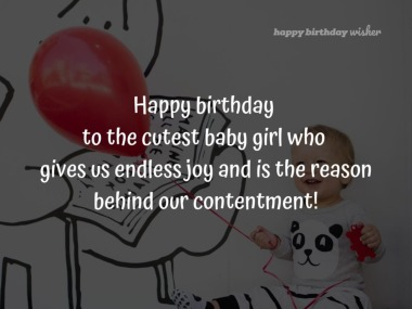 cute birthday wishes for