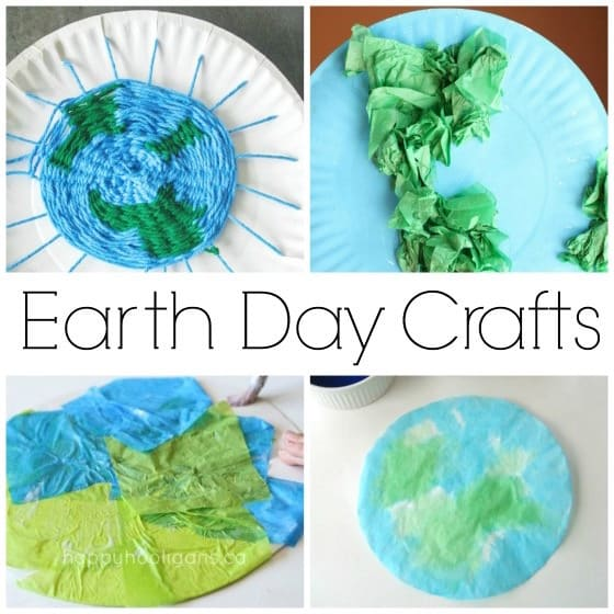 Earth Day Crafts for Kids - Happy Hooligans