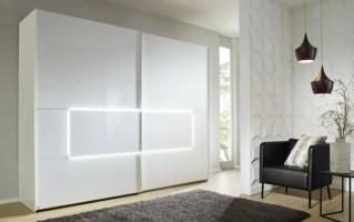 Schwebetürenschrank 4015 in weiß B/H ca. 319 x 236 cm ...