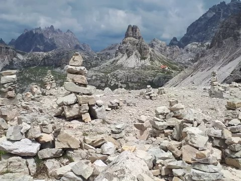 Alpentraversale Vom Watzmann zu den Drei Zinnen