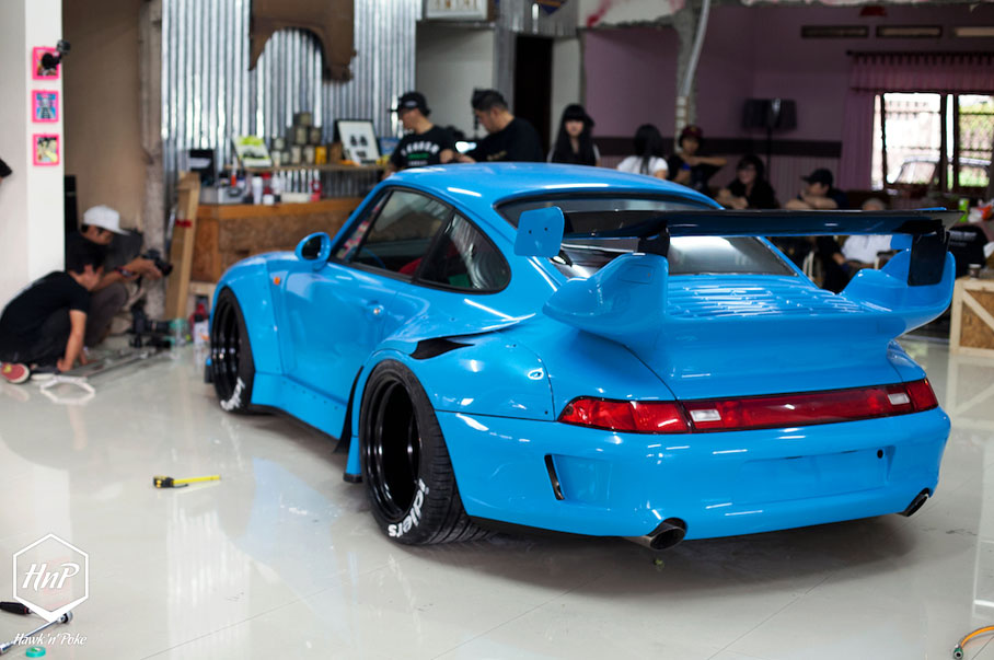 Drift Car Wallpaper Images A Visit To Rwb Indonesia Terror Garage