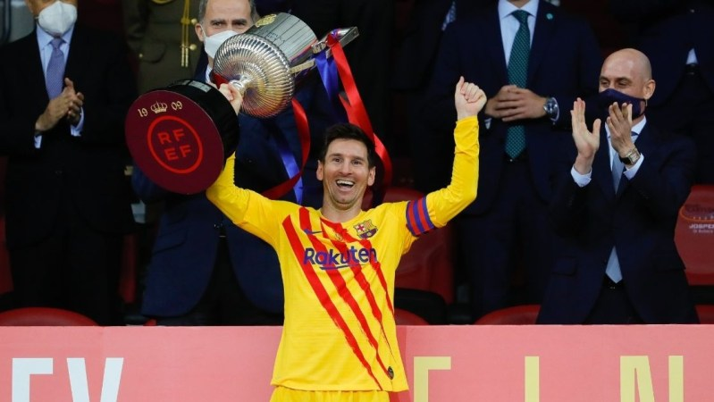 Barcelona wins Copa del Rey, Messi with a top-class performance - Headlines  of Today
