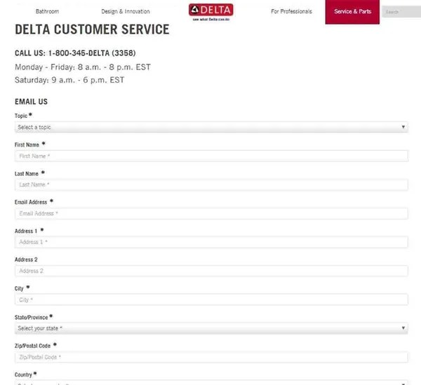 Delta Tech Support Phone Number