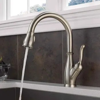 top kitchen faucets salvaged cabinets 5 best delta of 2018 reviews buyer s guide