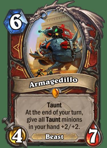 Armagedillo : armagedillo, Armagedillo, Hearthstone, Decks