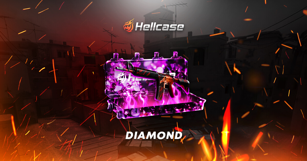 diamond open cases on