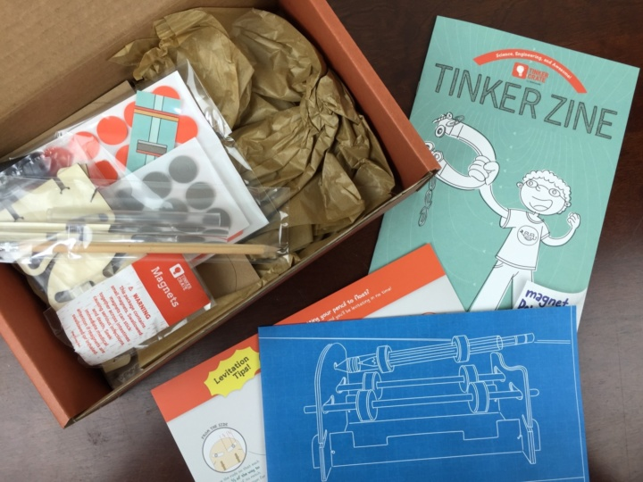 Tinker Crate May 2016 Review Amp Coupon Magnetic