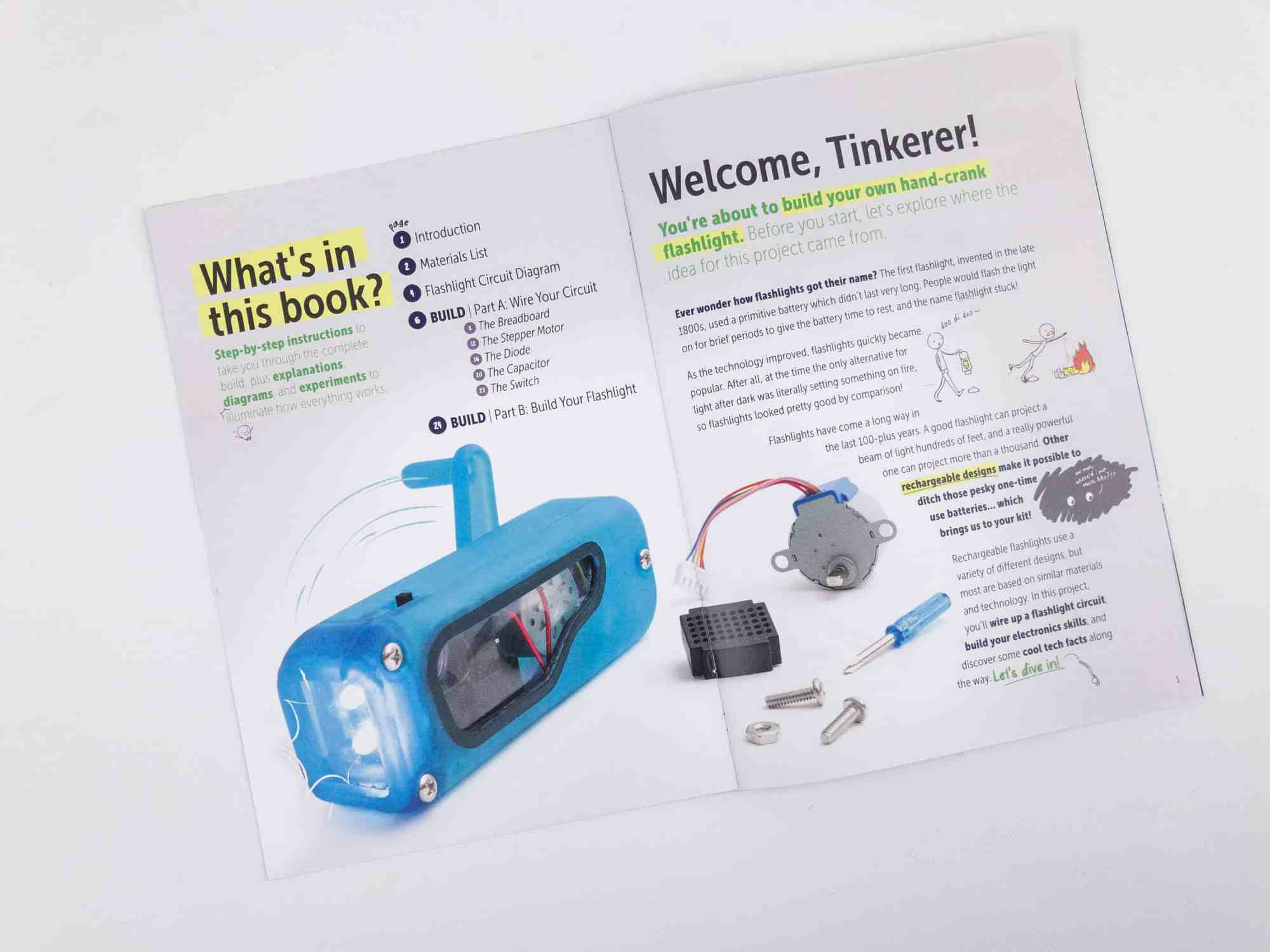 hight resolution of the mini magazine does a great job of explaining the technology and introducing it in a way that is interesting for kids here s a page that shows what s