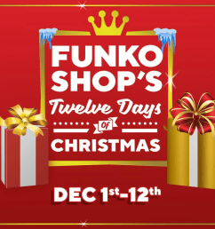 funko 12 days of christmas 2018 day 1 bundle available at 1 pm  [ 1000 x 1000 Pixel ]