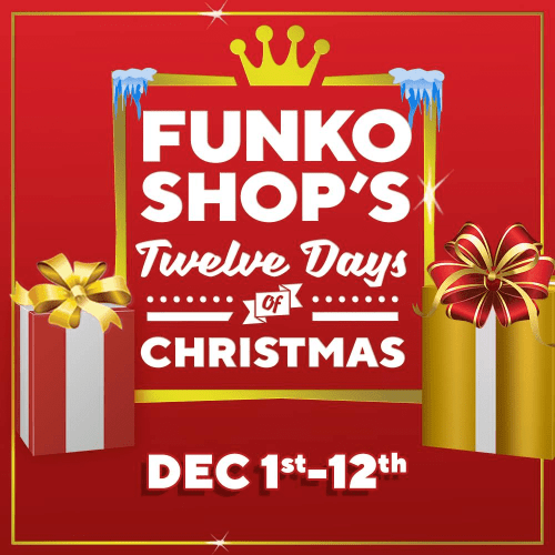 small resolution of funko 12 days of christmas 2018 day 1 bundle available at 1 pm