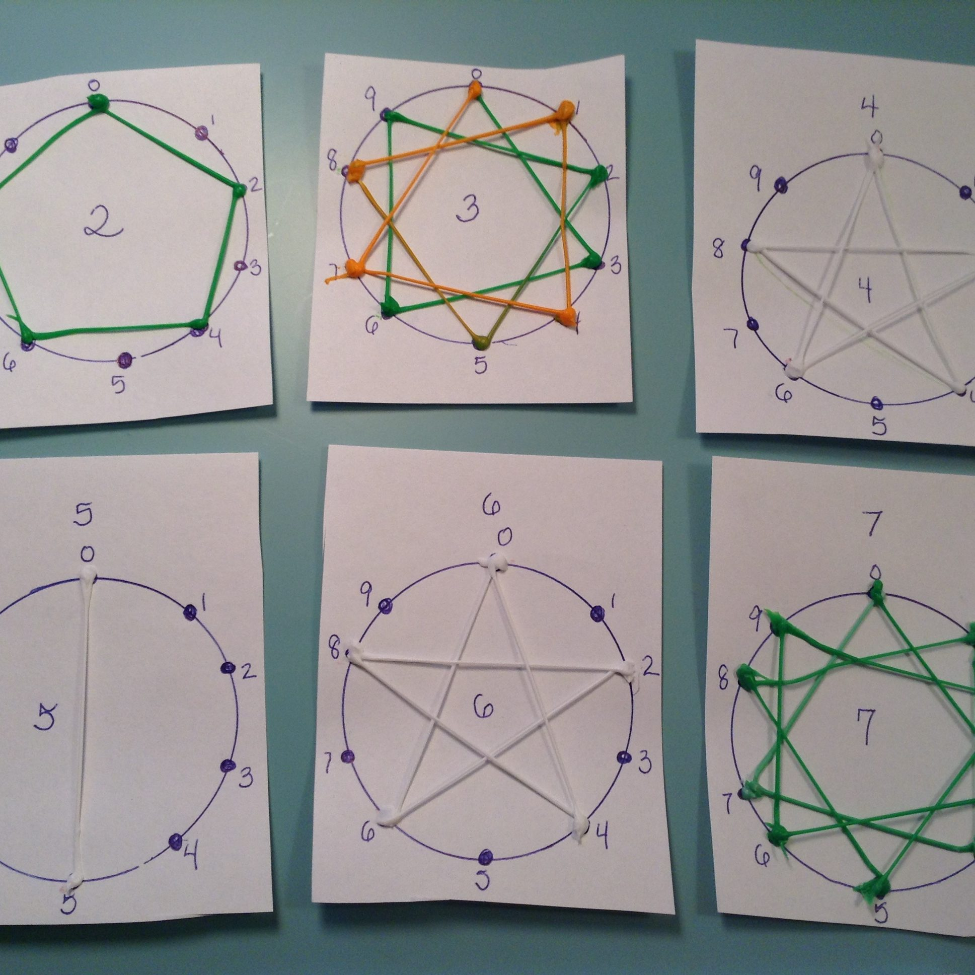 hight resolution of Doodle-the-Dots (Multiplication Patterns) - 3Doodler