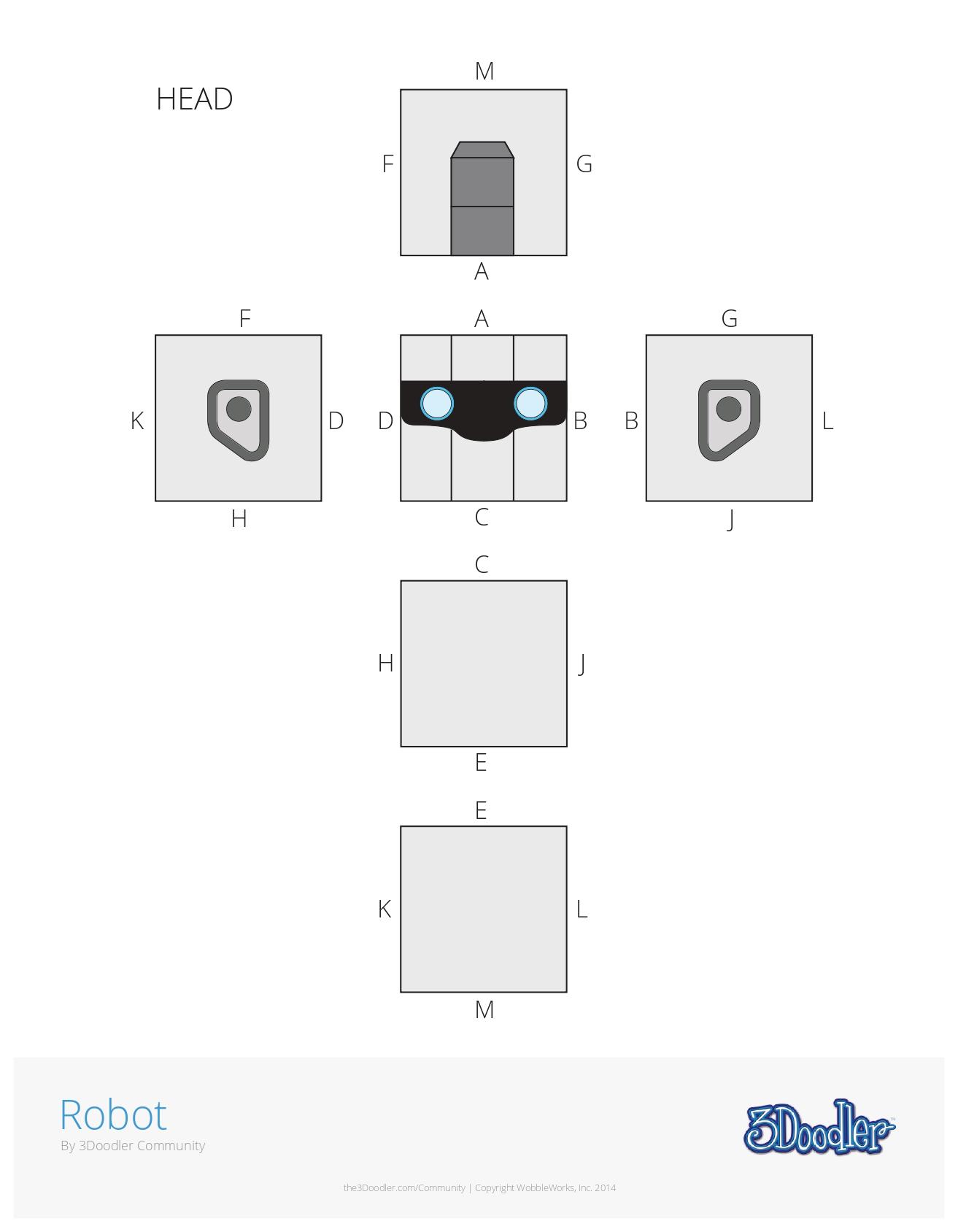 Robot - 3D Pen Creation Library