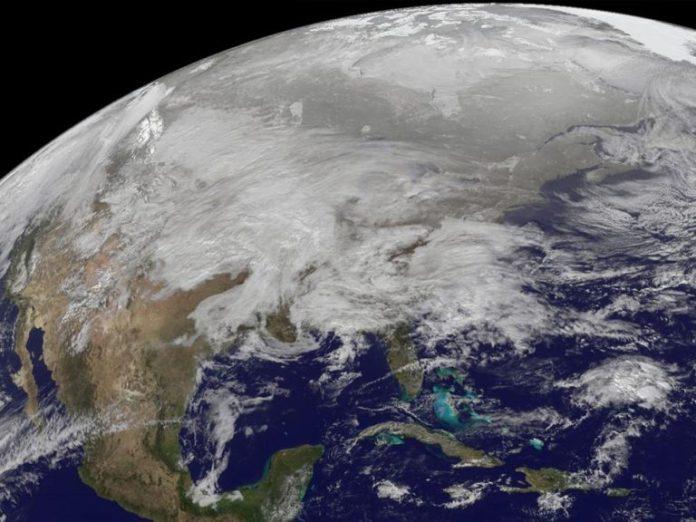 México desde el espacio. Foto: NASA