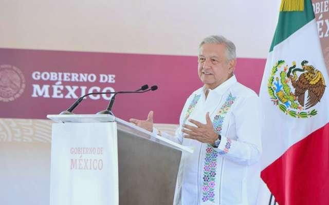 NADA DE CRÉDITO. El Presidente aseguró en Nayarit que México no pedirá ningún crédito al FMI ni a ninguna institución para enfrentar crisis. FOTO: CUARTOSCURO