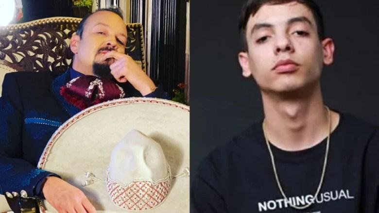Pepe Aguilar vs Natanael Cano; Así inició la pelea,