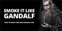 Make Your Own Gandalf Wooden Pipe