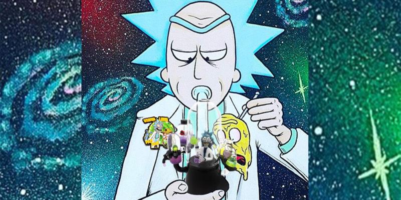 Rick And Morty Wallpaper Smoking Weed