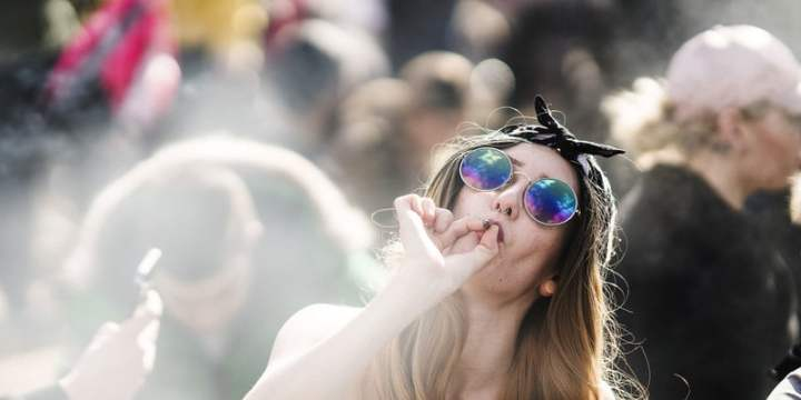 wc Why women will swap wine for weed when its legal