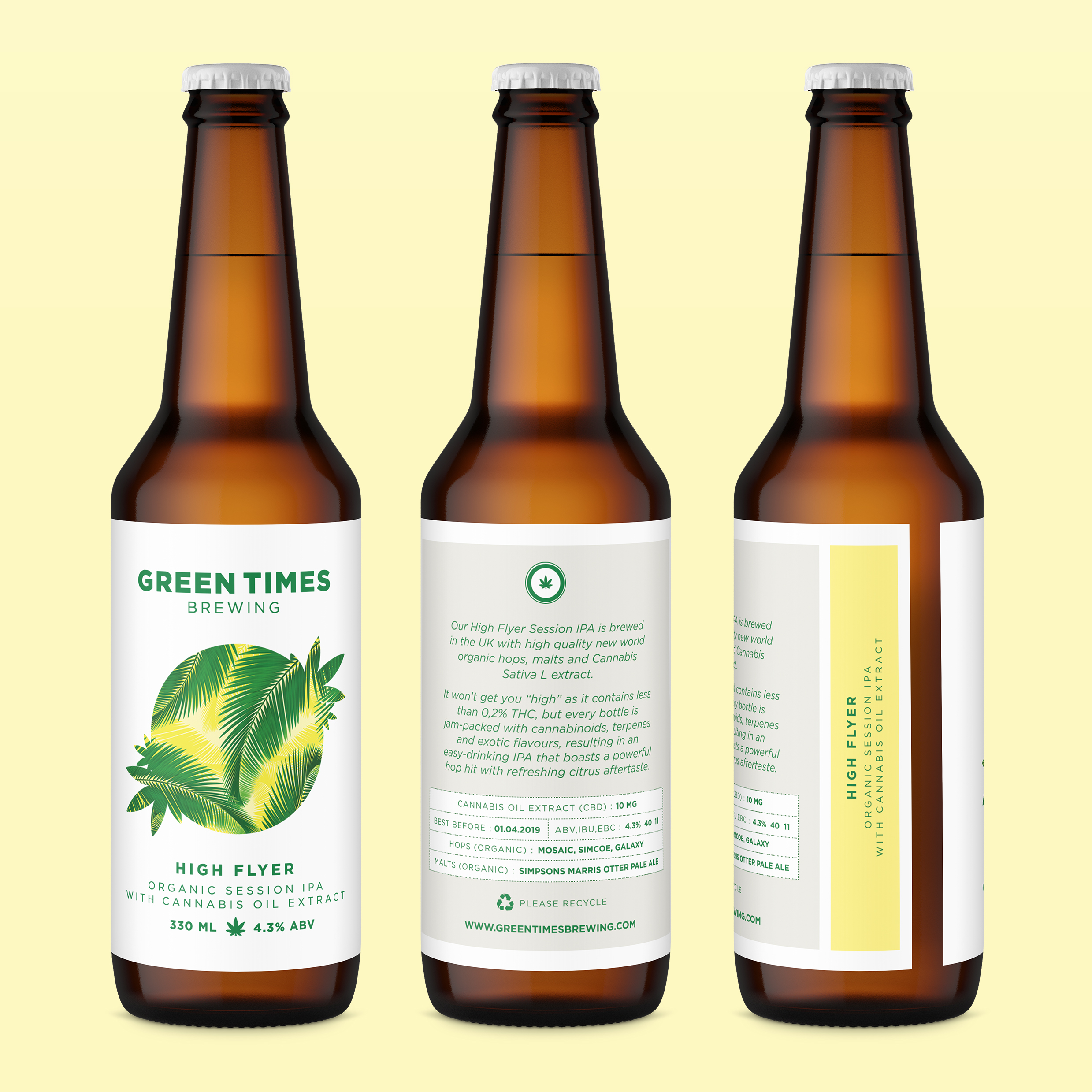 Website bottlesvisual3 From Heineken and Coors To Craft and Microbrews, This Is The Best Weed Beer In The World
