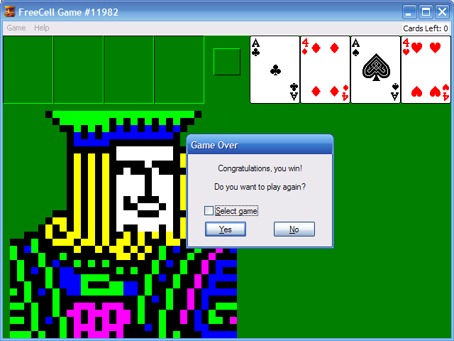 How To Beat The Impossible Freecell Game