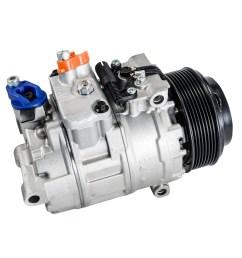 ac compressor for freightliner sprinter 2500 sprinter 3500 3 0l co 11244c 0002307611 [ 1000 x 1000 Pixel ]