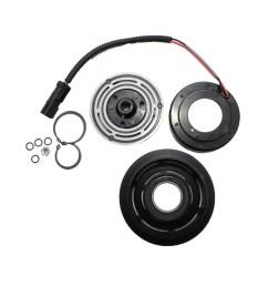 ac compressor clutch replacement kits for 96 02 dodge dakota durango ram 1500 2500 3500 [ 1000 x 1000 Pixel ]