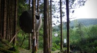 Suspended Tree Tent by Luminair | HiConsumption