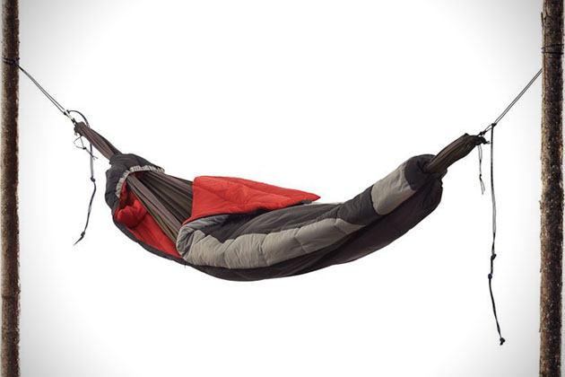 Suspended Sleeping Bag Hammock  HiConsumption