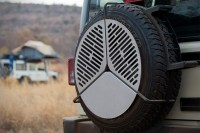 Front Runner Spare Tire BBQ Grate | HiConsumption