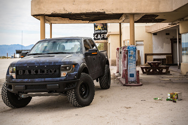 Bubba Watsons Bulletproof Ford Raptor by Oakley  1