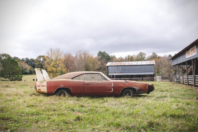 Barn Find- 1969 Dodge Daytona Charger 3
