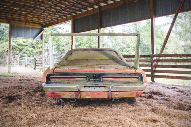 Barn Find- 1969 Dodge Daytona Charger 5