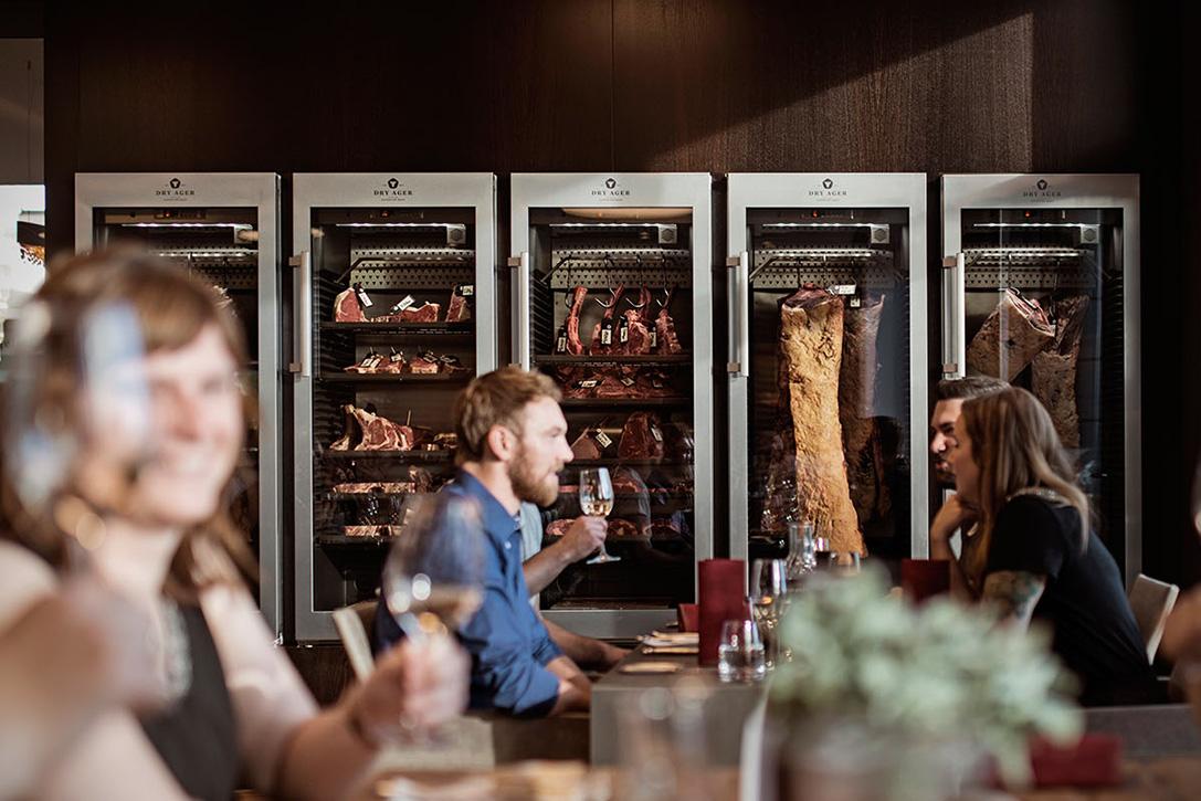 kitchen caddy classics denver dry ager dx 1000 meat fridge | hiconsumption