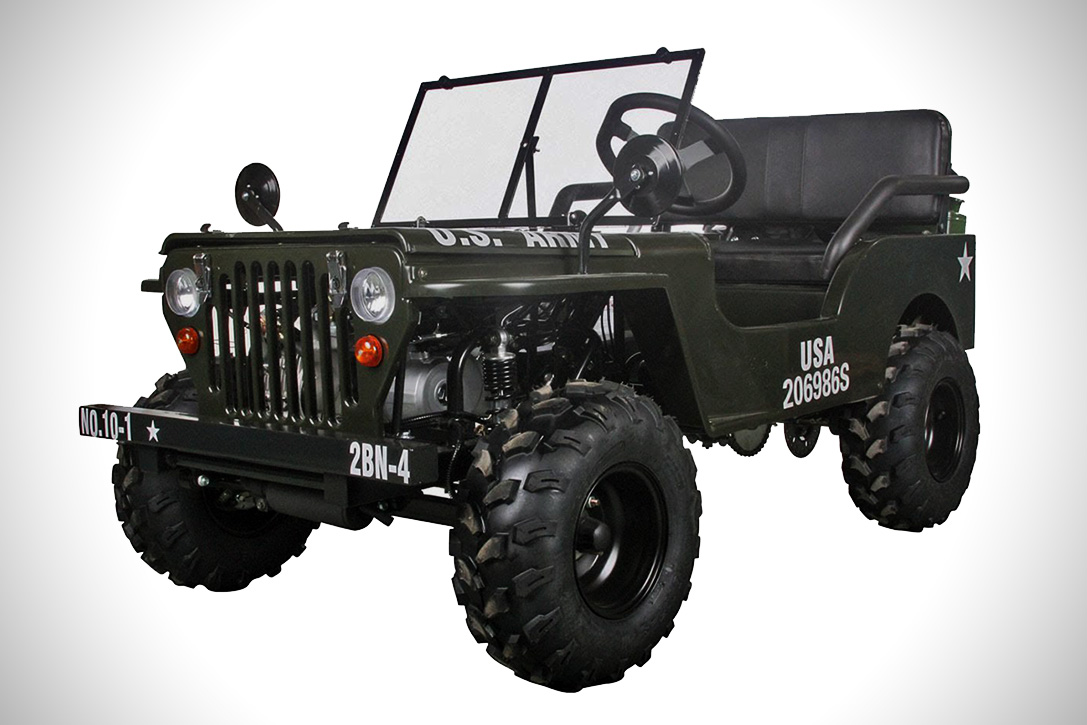 Ice Bear Thunderbird 125cc Mini Jeep Hiconsumption