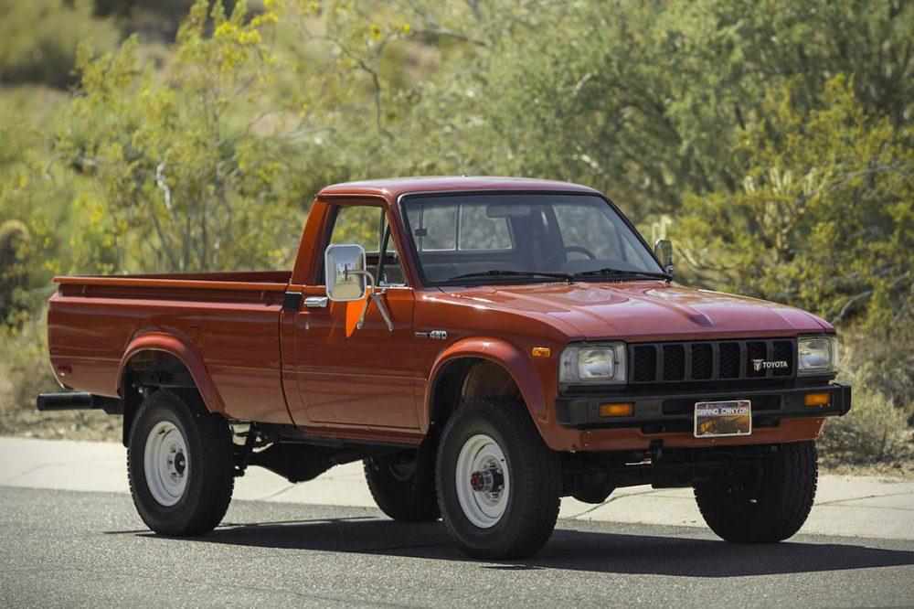 medium resolution of auction block 1983 toyota pickup 4 4
