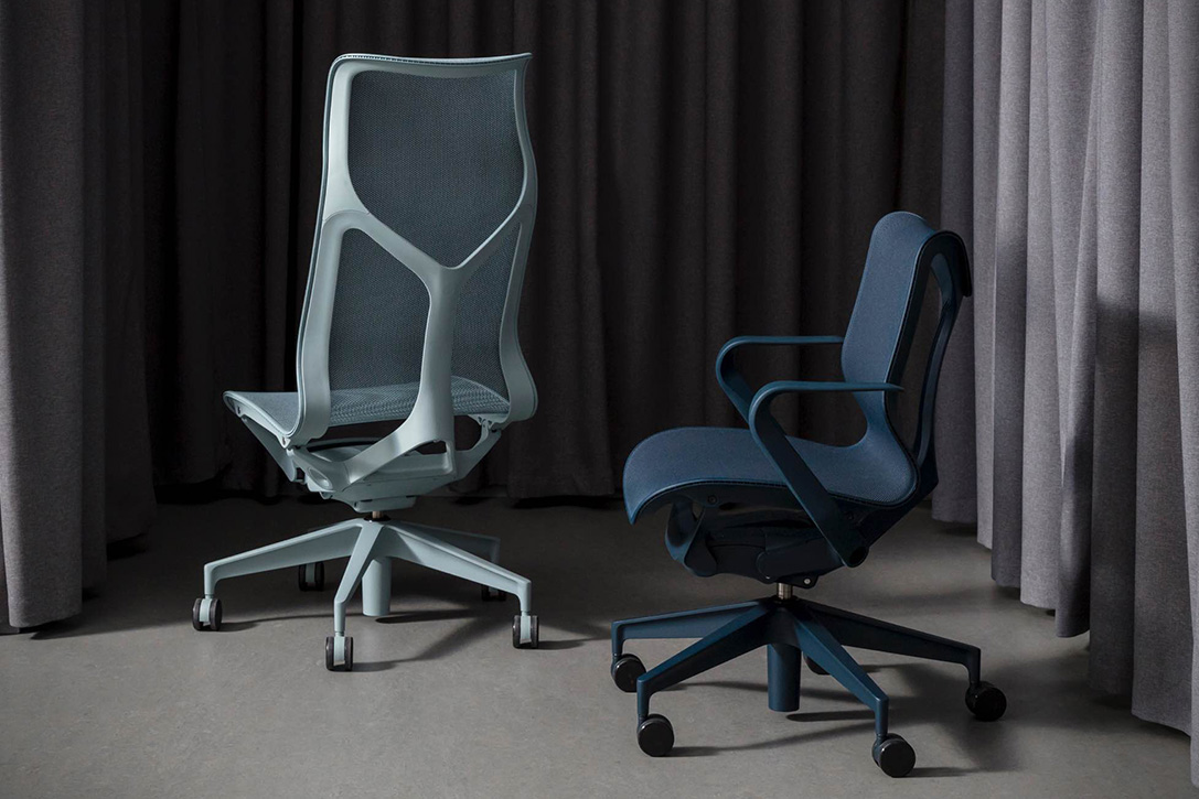 posture support chairs office chair covers for sale in polokwane herman miller cosm by studio 7.5 | hiconsumption