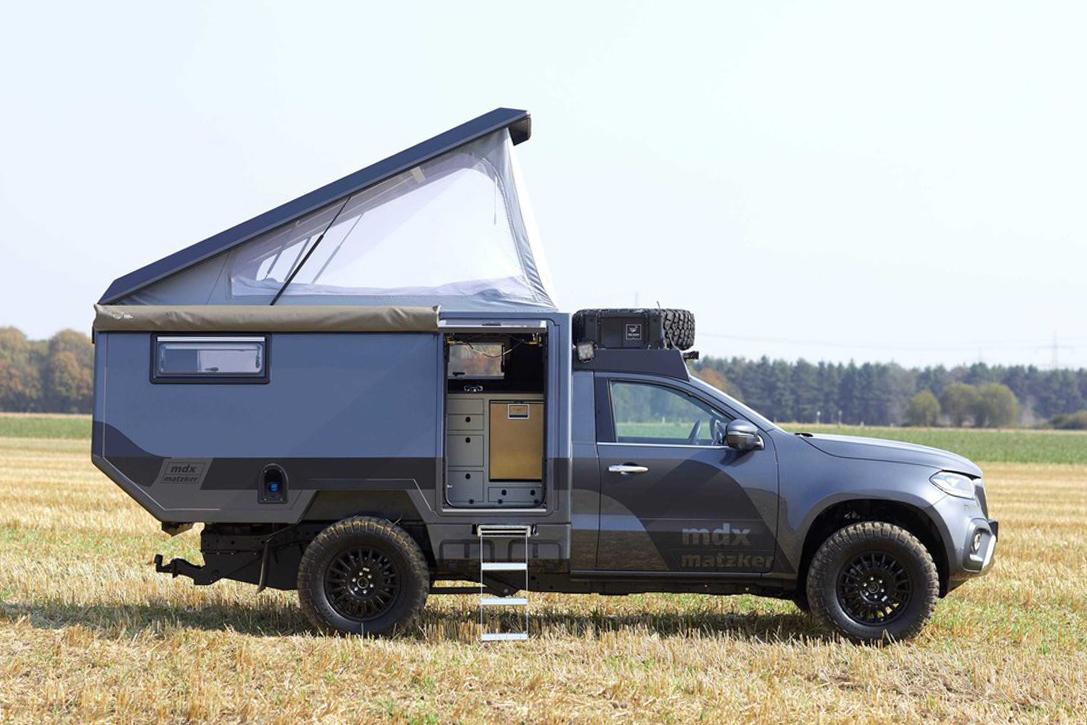 MercedesBenz XClass MDX Camper By Matzker  HiConsumption