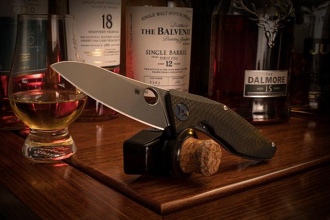 Spyderco Drunken Folding Knife  HiConsumption