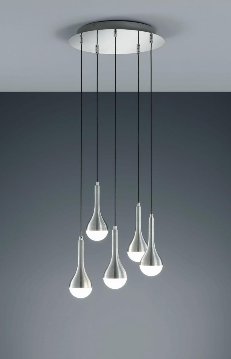 LED Hngeleuchte in Aluminium Gehuse Tropfen Design